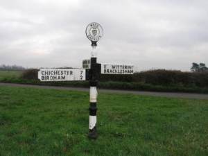 finger post sign