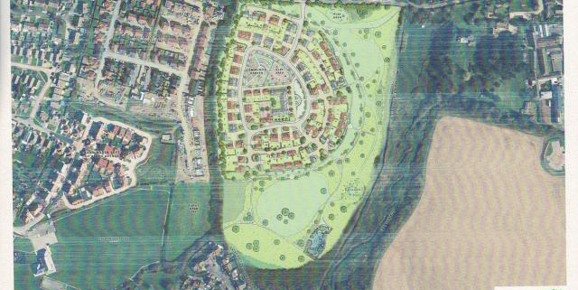 seawards clappers lane 100 dwelling image of proposed layout